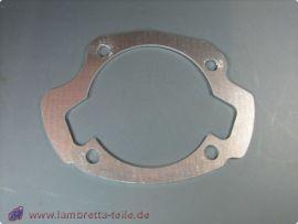 Fußdichtung 200-250ccm Alu 2,0mm  Lambretta Li1, Li2, Li3, LiS, SX, TV, GP/dl