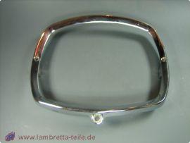 Headlight ring alloy chrome Lambretta GP/dl