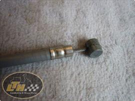 Kupplungszug komplett grau Teflon Lambretta