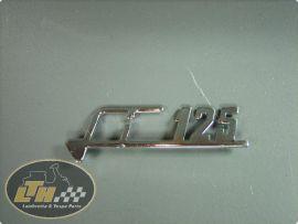 """Emblem legshield Lambretta """"Li125"""""""