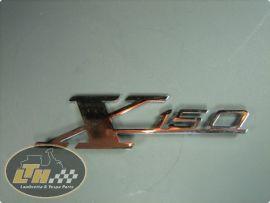 """Emblem Beinschild """"X150"""""""